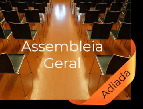 Desconvocada a Assembleia Geral de 21 de julho